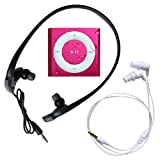 Underwater Audio - Wasserdichter iPod Shuffle (Pink), Mega Bündel mit Swimbuds UND HyrdoHarmony Wasserdichte Kopfhörer