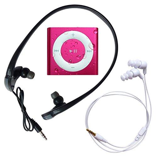 Underwater Audio Waterproof iPod Mega Bundle (Hot Pink)