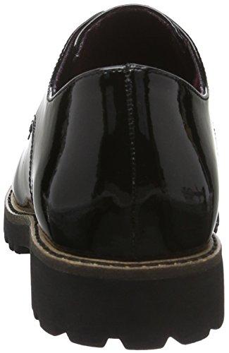 Tamaris 23214, Scarpe Oxford Donna Nero (BLACK 001)