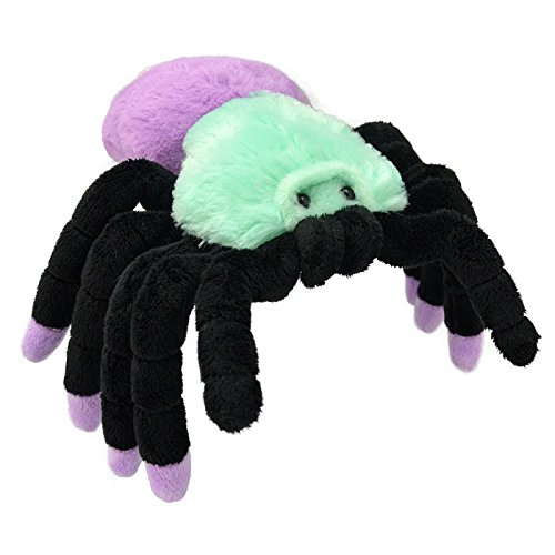 Wild Planet All About Nature-30 cm Tarantule du Doigt Rose-Fait à la Main, Peluche réaliste, Multicolore (K8241