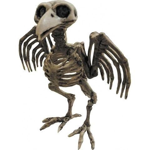 Decorazione di Halloween: scheletro di corvo
