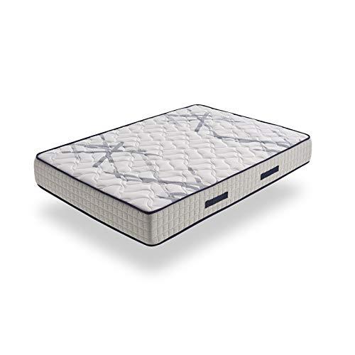 HOGAR24 ES Xtrem Pocket, Colchón Muelles Ensacados + Viscoelástica En ...