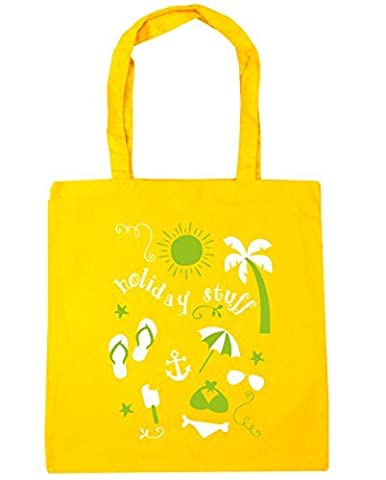HippoWarehouse Holiday Stuff Tote Shopping Gym Beach Bag 42cm x38cm, 10 litres
