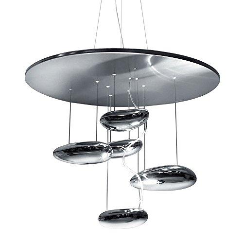 Artemide Mercury Mini Pendelleuchte, LED 29W, chrom/Stahl