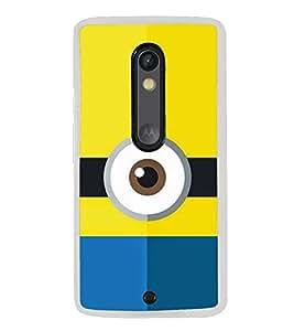 One eyed Cartoon 2D Hard Polycarbonate Designer Back Case Cover for Motorola Moto G3 :: Motorola Moto G (3rd Gen) :: Motorola Moto G (Gen 3) :: Motorola Moto G Dual SIM (3rd Gen) :: Motorola Moto G3 Dual SIM