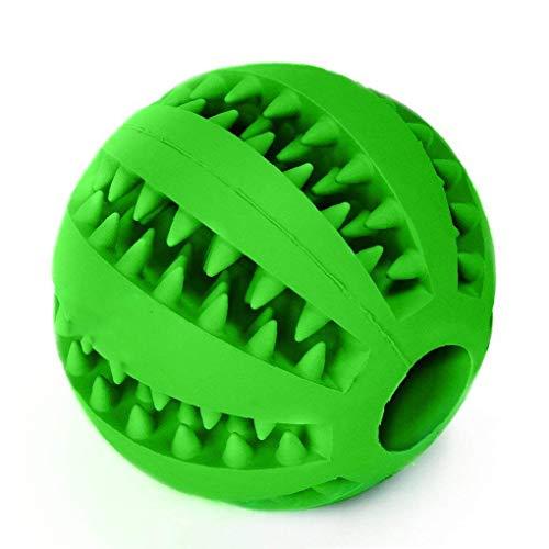 MEISO Kauball für Hunde und Katzen, interaktives Haustier-Training, langlebig, BPA-frei, ungiftig, Naturkautschuk, Zahnreinigungsspielzeug