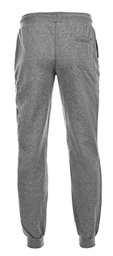 Hi-Tec Herren meian Tracksuit Bottom Grey Melange/Dark Grey Melange