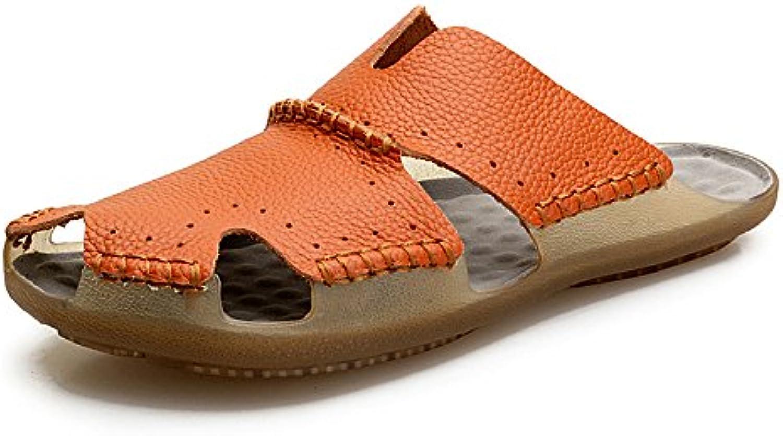 Scarpe da spiaggia Scarpe da testa di vacchetta a testa di cavallo in Baotou (24-27 cm), Pantofole da uomo per... | Cheap  | Uomini/Donna Scarpa