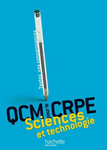 QCM pour le CRPE : Sciences et technologie