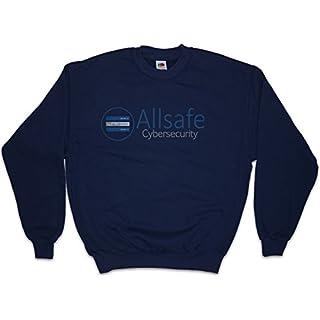 Allsafe Cybersecurity Sweatshirt Pullover Sweater - Fsociety Hacker TV Evil E Corp Mr. Robot Größen S – 5XL