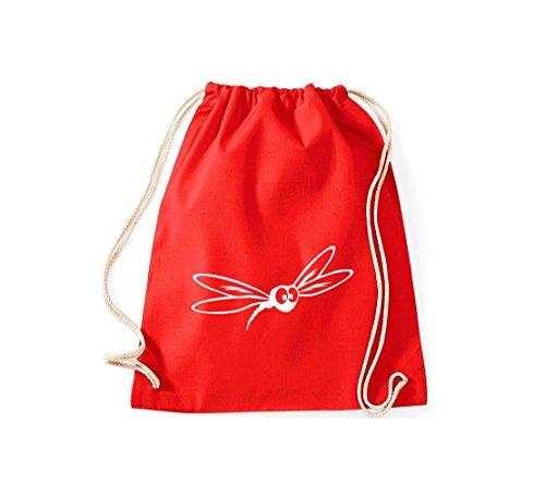 Shirtstown, Sac de gym Animaux moustiques pipiens Rouge - Rouge