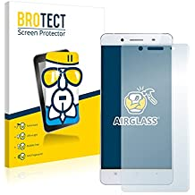 BROTECT AirGlass Protector Pantalla Cristal Flexible Transparente para Cubot X17 S Protector Cristal Vidrio - Extra-Duro, Ultra-Ligero, Ultra-Claro