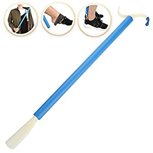 Dressing Stick, Multifunctional Adaptive Mobility Dressing Aid Stick with Long Handle and Shoe Horn Sock Gripper