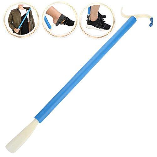 Dressing Stick, multifunktionale adaptive Mobility Disability Dressing Hilfe Stick mit langem Griff und Schuh Horn Sock Gripper -