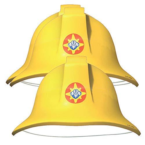 Feuerwehrmann Sam - Party Geburtstag Hüte (8 Stück) (Internationale Motto Party Kostüm)