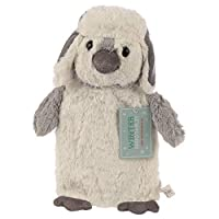 Newest Present Gift Penguin Hot Water Bottle with Detachable Plush Cover - Warms The Aching Parts of The Body - for Womens Ladies Mum Mother - Perfect for Christmas Xmas Secret Santa Stocking Filler