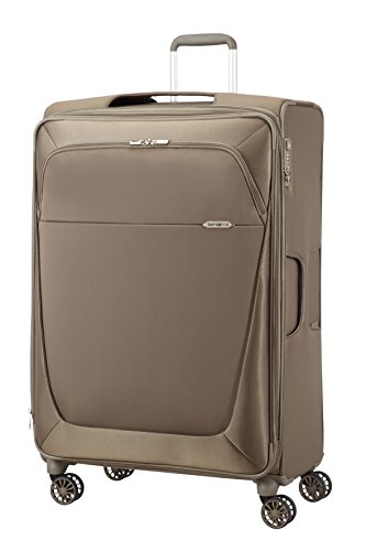 SAMSONITE VALIGIA TROLLEY SPINN 4 RUOTE GIGANTE B-LITE 3 Super light Beig 39D008