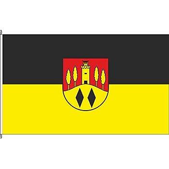 Flagge Fahne Bannerflagge Oberg - 80 x 200cm