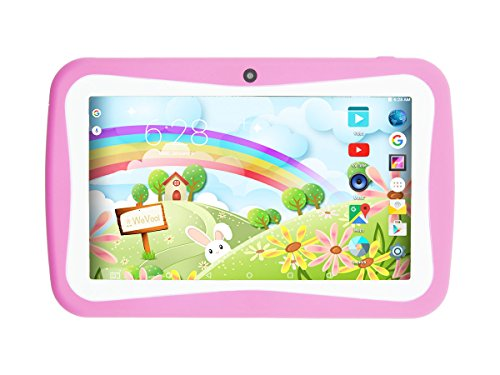 WeVool EOS PINK - Tablet 7' Android 5.1, Quad Core, WIFI, 1G, 8GB, 2MP AF