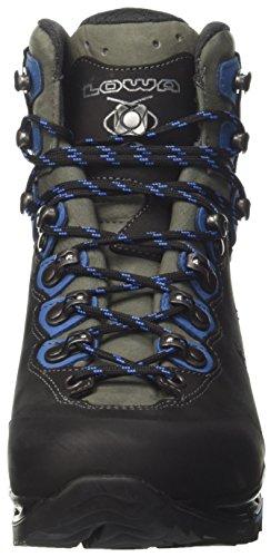 Lowa Camino Gtx, Stivali da Escursionismo Uomo Grigio (Schwarz/Blau)