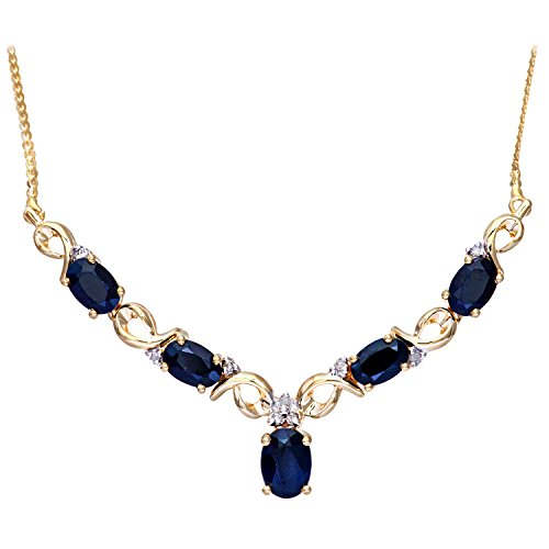 naava-womens-diamond-and-sapphire-9-ct-yellow-gold-necklace-of-length-47-cm