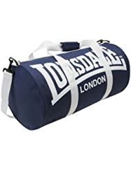 Lonsdale – Bolsa de deporte (modelo 2) – Color: Azul marino/blanco – Única