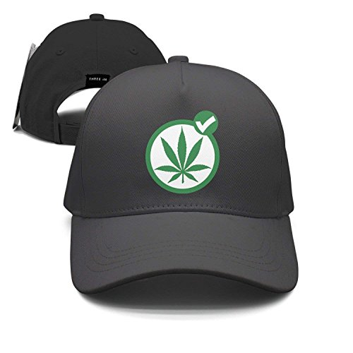 Tick Weed Marijuana Unisex Baseball Cap Snapback Hip Hop Caps Fitted Sport Sun Hats