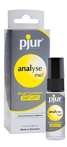 pjur analyse me! anal comfort serum - Premium Silikon-Gel, Made in Germany, 1er Pack (1 X 0.02 L)