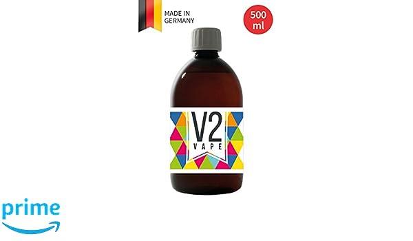 V2 Vape E-Liquid Base Base 500ml Pharmaceutical Grade Pure