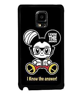 Printvisa Ultra Cartoon 2D Hard Polycarbonate Designer Back Case Cover for Samsung Galaxy Not...