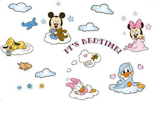 Baby Minnie Maus Aufkleber - Karneval Online Shop