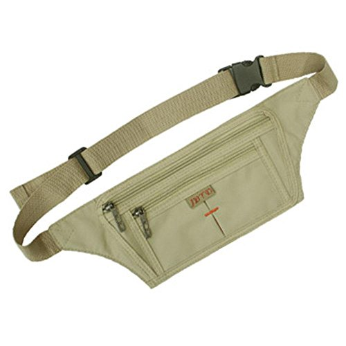 BUSL Wandern Hüfttaschen Telefon im Freien Sporttasche Mann Frau dünne Dokumente gespeichert persönliche Reise unsichtbare Sicherheitstaschen läuft Fitness c