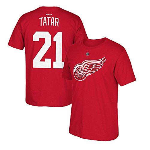 adidas Tomáš tatarisch Reebok Detroit Red Wings Premier Player Jersey rot T-Shirt Herren, Herren, rot, Large