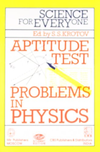 Science for Everyone: Aptitude Test: Prob. Physics
