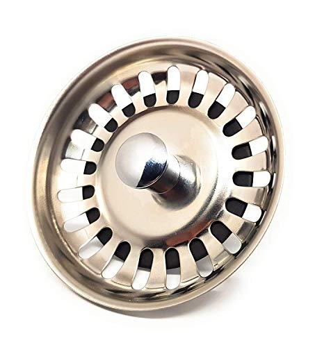 DigitalTech® - Colador rejilla universal para fregadero de acero inoxidable. Tapón para...