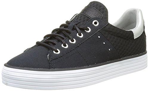 Esprit Sita Lace Up, Sneakers Basses Femme Noir (001 Black)