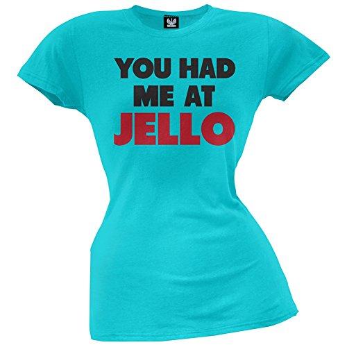 you-had-me-at-jello-juniors-camiseta