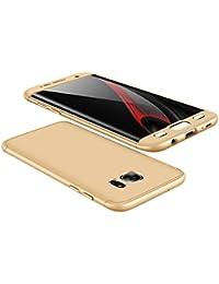 Qissy® Carcasa Samsung Galaxy S7 Edge ,Todo incluido Anti-Scratch Ultra Slim Protective Case Cover para Samsung Galaxy S7 Edge