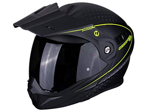 Scorpion 84-282-157-07 ADX-1 Horizon Matt Black-Neon Yellow XXL - 282 Matt