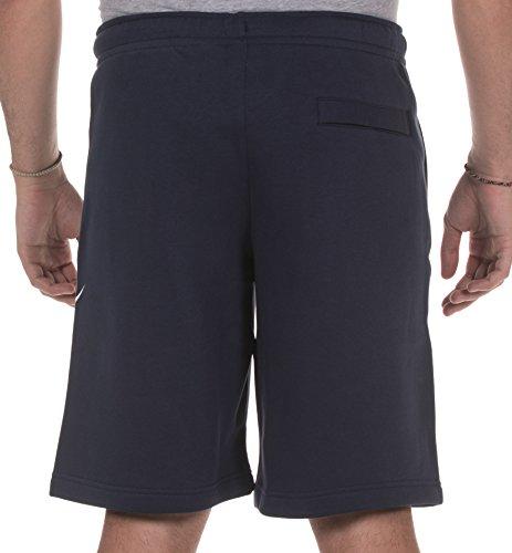 Nike M Nsw Flc Exp Club -Pantaloncini da uomo Obsidian White