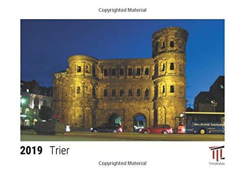 Trier 2019 - Timokrates desk calendar, picture calendar, photo calendar - DIN A5 (21 x 15 cm)