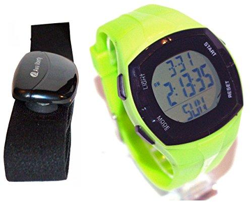 Preisvergleich Produktbild Schrittzähler-Uhr &AL5003HR Cardio-Frequenz-Bedienungsanleitung auf Französisch (grün)