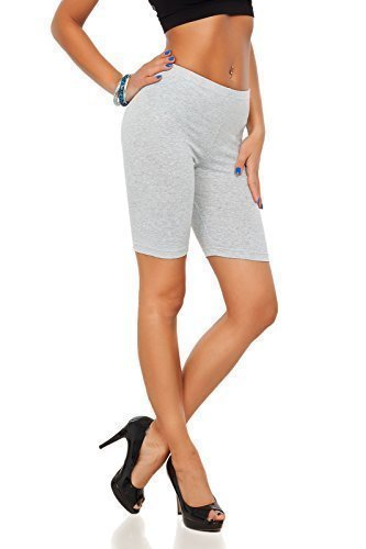 Futuro Fashion Cotton Leggings 1/2 Length Over-Knee Shorts Active Sport Casual Pants LK Test