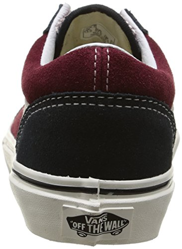 Vans - K Old Skool Vintage, Sneakers, infantile Multicolore (Vintage/Blue Graphite/Windsor Wine)