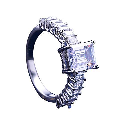LOLIANNI Frauen Silber personalisierte metalllegierung Ring Damen voller diamanten microinlaid zirkon weibliche Dress up Ring schmuck Geschenk