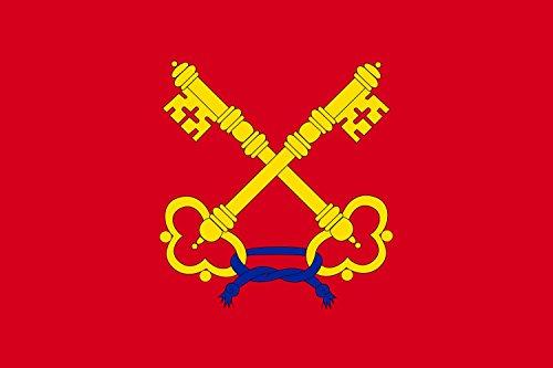 Preisvergleich Produktbild Flagge Comtat Venaissin   Comtat Venaissin in France around Avignon   Comtat Venaissin en France dans les environs d Avignon   Querformat Fahne   0.06m²   20x30cm für Diplomat-Flags Autof