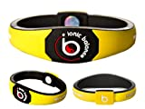 Bracelet Ionique Balance POWER - Equilibre Puissance - Jaune, Small - 17.5cm / 6.9in, 100 pourcent coton jersey