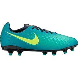 Nike 844415-375, Botas de fútbol Unisex Adulto, Azul (Rio Teal/Volt-Obsidian-Clear Jade), 38 EU