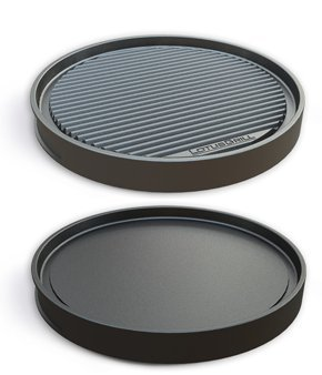 LotusGrill Grill teppanyaki plate – Specially developed For Smoke Free Charcoal Grill/Table Grill