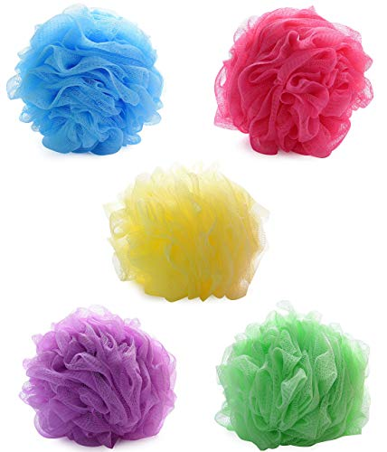 BoldnYoung Bath Shower Soft Loofah Sponge Pack of 5